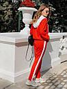 Женский спортивный костюм с капюшоном и мастеркой на молнии 73spt753, фото 5