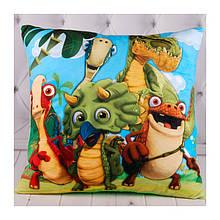 Подушка детская Динозавры