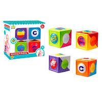 Развивающая игрушка детские Кубики (меняются картинки) SL84837