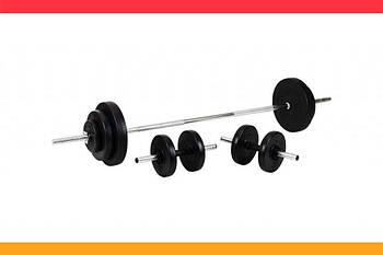Штанга + Гантели разборные Набор ORIGINAL-SPORT 110 кг