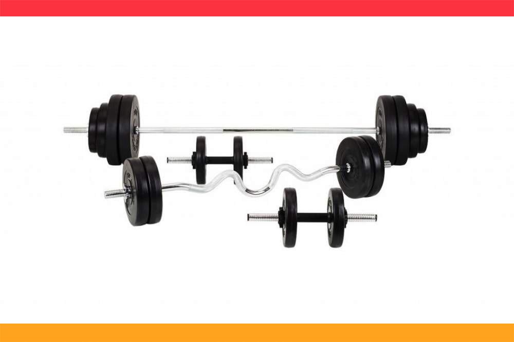 Штанга + Гантели разборные Набор ORIGINAL-SPORT 120 кг