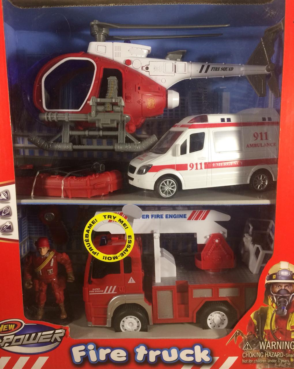 Детский пожарный набор