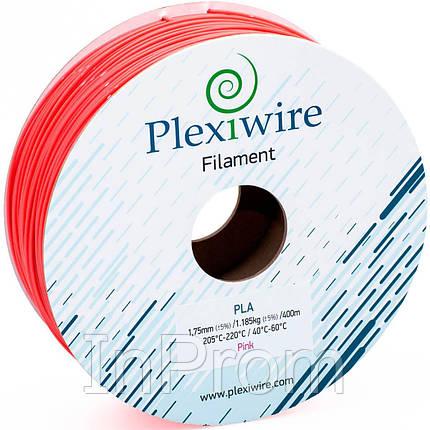 PLA пластик для 3D принтера 1.75мм розовый флуоресцентный (300м / 0.9кг), фото 2