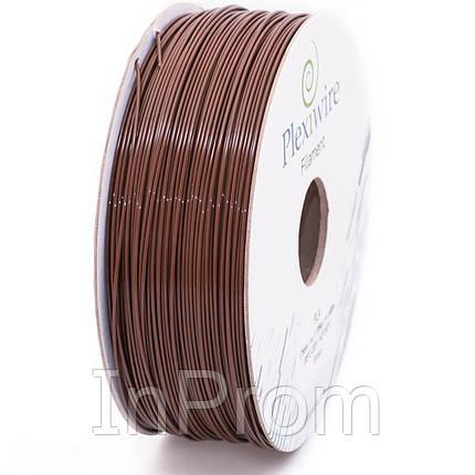PLA пластик для 3D принтера 1.75мм коричневый (400м / 1.185кг), фото 2