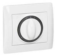 Лицевая панель для выключателя/переключателя механизмов управления вентиляцией Белый Legrand Galea Life (77705