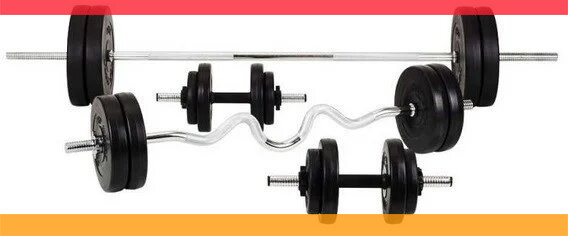 Штанга + Гантели разборные Набор ORIGINAL-SPORT 80 кг