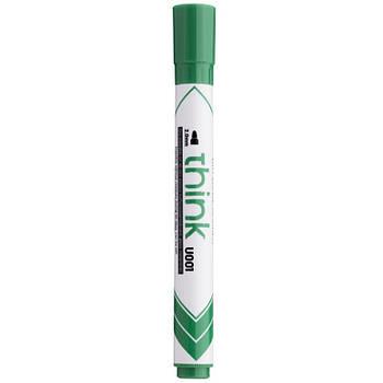 """Маркер для досок Deli EU00150 зеленый 2 мм пулевидный """"Think"""""""