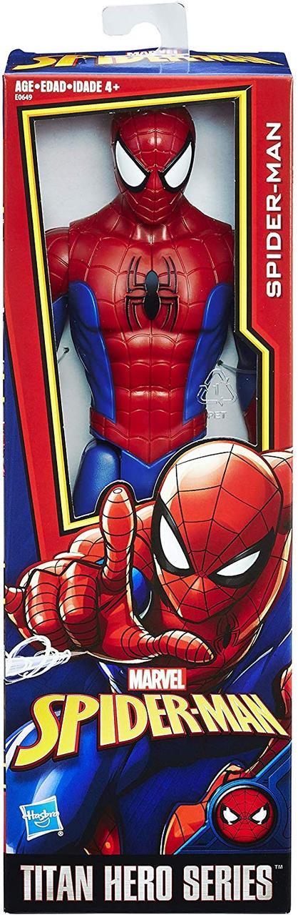 Іграшка-фігурка Hasbro Людина-Павук, 30 см - Power FX Spider-Man, Titan Hero Series (E0649)