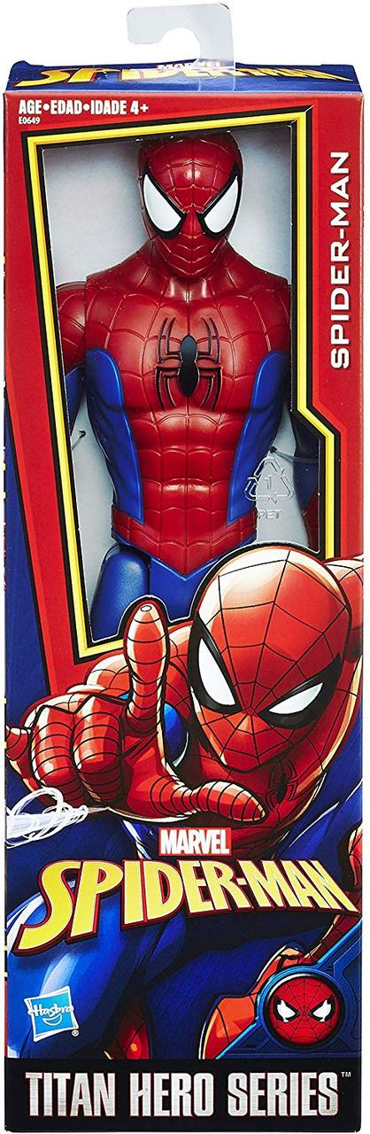 Игрушка-фигурка Hasbro Человек-Паук, 30 см - Power FX Spider-Man, Titan Hero Series (E0649)