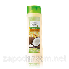 Шампунь для сухого і пошкодженого волосся «Пшениця і кокос» великий обсяг, 400мл