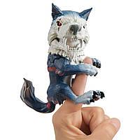Интерактивная ручная фигурка Фингерлингс Волк Полночь/Wolf by Fingerlings Midnight By WowWee 3961