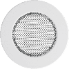 Решетка круглая белая 100