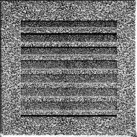 Решетка FRESH черно-серебряная 17*17, фото 1