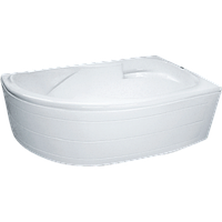 Ванна асимметричная SunLight 4038 (L/R) 1700х1000х550 мм (левая/правая)