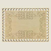 Прямоугольное донышко для вязанных корзин Shasheltoys (100346.325) 325х455 мм