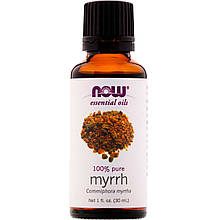Now Foods, 100% Эфирное масло Мирры, Murrh oil 100% pure 30 ml