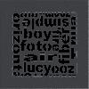 Решетка ABC графитовая 17*17
