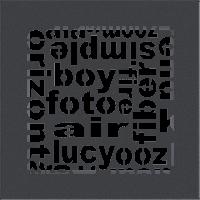 Решетка ABC графитовая 17*17, фото 1
