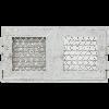 Решетка RETRO белая 22 две дверцы