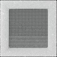 Решетка VENUS белая 17*17 с кристаллами Swarovski
