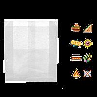 308 Пакет бумажный, жиростойкий, белый 160х120х50мм (ВхШхГ) 40г/м² (1уп/100шт.)