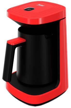 Кофеварка Beko ТКМ 2940 K 0.26 л Красный / Черный, фото 2