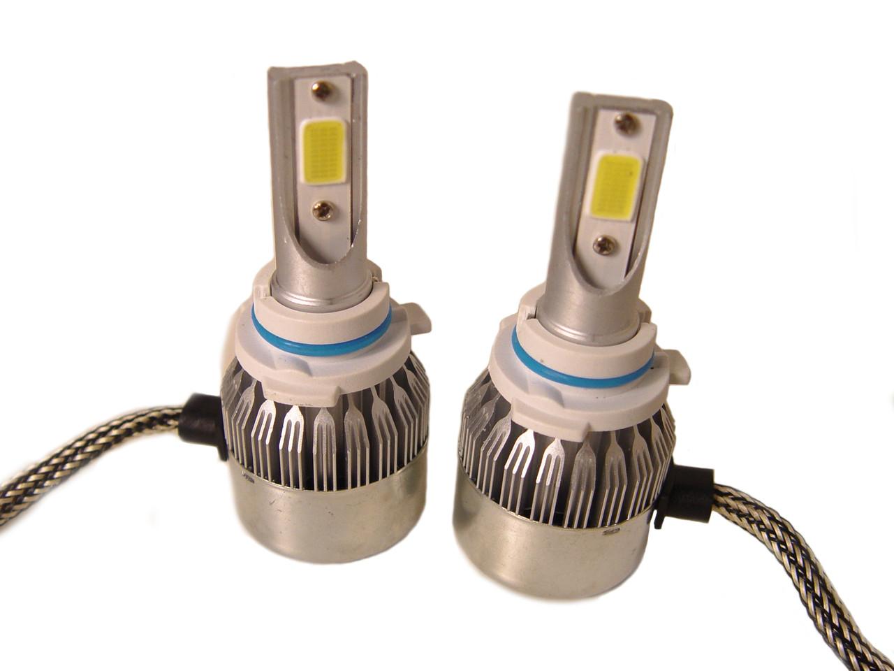 Комплект автомобільних LED ламп C6 в туманки 9006