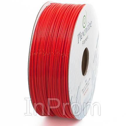 PLA пластик для 3D принтера 1.75мм красный флуоресцентный (300м / 0.9кг), фото 2