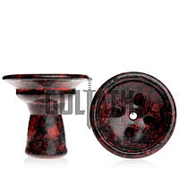 Чаша Goliath Bowl - Martini, Red Black Marble