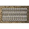 Решетка черно-золотая 22*37 (крашеная) жалюзи