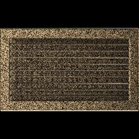 Решетка черно-золотая 22*37 (крашеная) жалюзи, фото 1