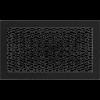 Решетка черная 22*37 (крашеная)
