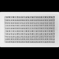 Решетка белая 22*37 (крашеная) жалюзи, фото 1
