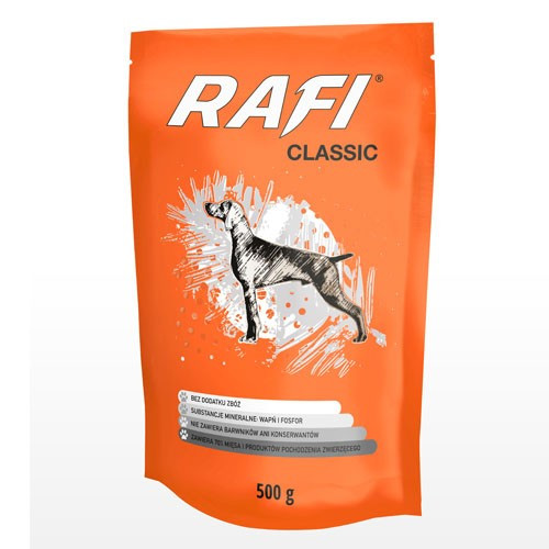 Консерви DN Rafi Classic 500 г пауч паштет м'ясний для собак
