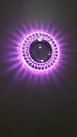 Встраиваемый светильник  7023 PK MR16 с LED подсветкой со сменой цветов