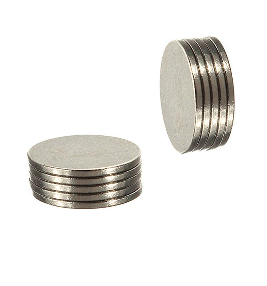 Неодимовый магнит 10 * 1 мм