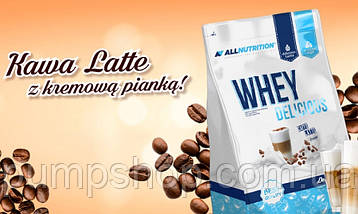 Сывороточный кремовый протеин AllNutrition Whey Delicious 700 г, фото 2