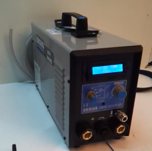 Сварочный инвертор ERGUS DIGITIG 170/50 HF ADV G-P (DDD115.170.T-E.02.00)