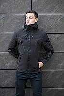 """Мужская демисезонная куртка весна\осень Pobedov Jacket """"Korol' Lev""""."""