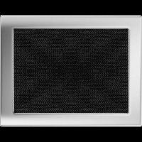 Решетка никелированная 22*30, фото 1