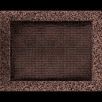 Решетка медная 22*30 (крашеная), фото 1