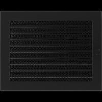 Решетка черная 22*30 (крашеная) жалюзи, фото 1
