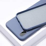 Силиконовый чехол SLIM на Samsung A60 Lavender