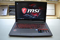 Новый Ноутбук MSI GF62 7RE 2025 Intel i7-7700HQ 2.8GHz 16GB DDR4 1TB HDD Win 10 Оригинал!, фото 1