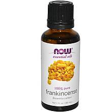 Now Foods Эфирное масло Ладана, Frankincense oil 100% pure, 30 ml