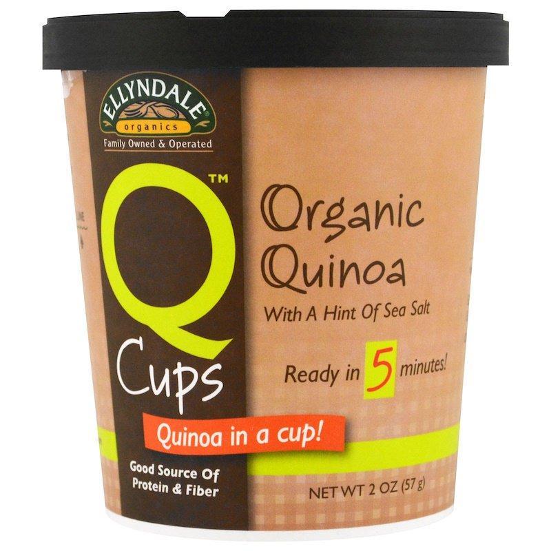 "Органічна кіноа NOW Foods, Ellyndale Naturals ""Quinoa Cups"" цілісний злак (57 р)"