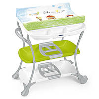 Пеленальный столик Cam Nuvola цвет зеленый ( Bebe Amore Mio 222 )