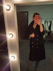 Распродажа! ХS Фирменное черное пальто Cache Cache размер ХS, фото 2