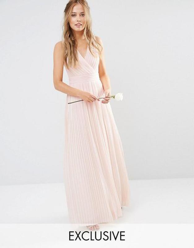 Распродажа! Tfnc р. S Фирменное платье с драпированным верхом и завязками на спине