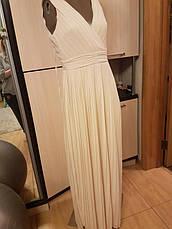 Распродажа! Tfnc р. S Фирменное платье с драпированным верхом и завязками на спине, фото 3